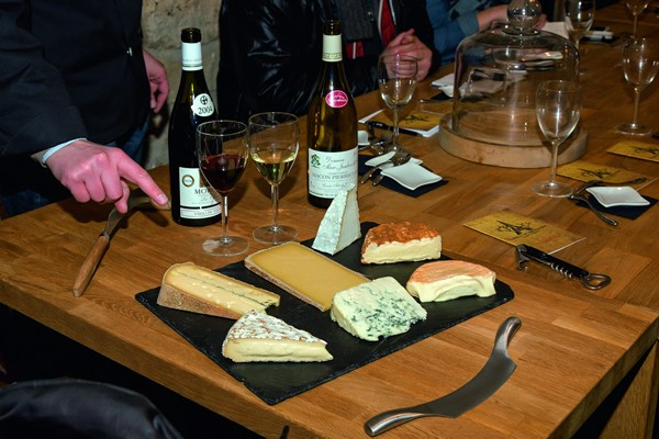 奶酪和葡萄酒