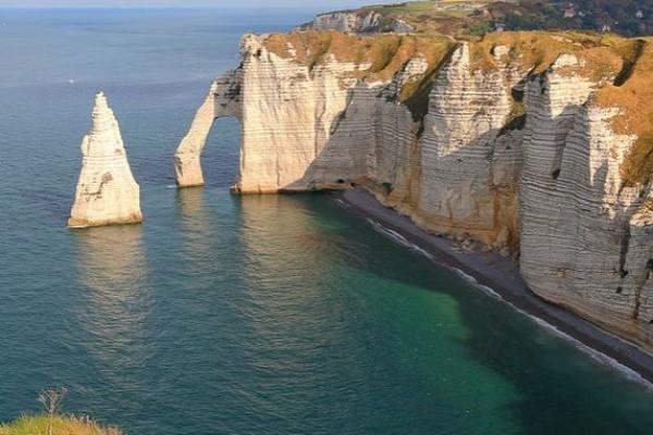 The cliffs of Etretat