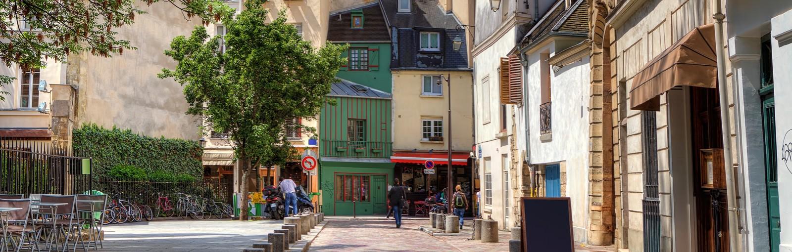 Tours 玛黑区老城, 孚日广场,圣·保罗村 - 徒步游 - 巴黎游