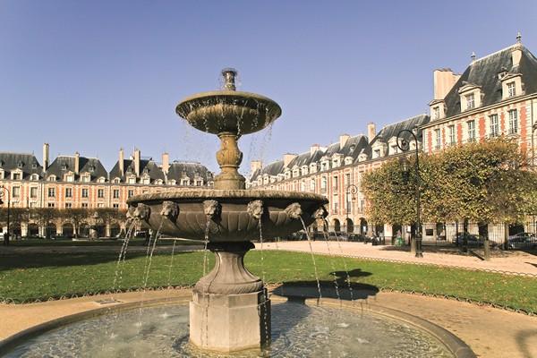 玛黑区老城, 孚日广场,圣·保罗村 - 徒步游 - 巴黎游